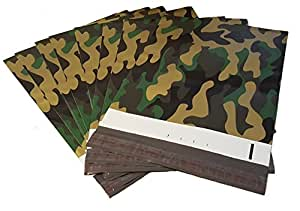 100 Camo 6x9 Poly Mailer Plastic Shipping Mailing Bag Envelopes Polybags Polymailer Line