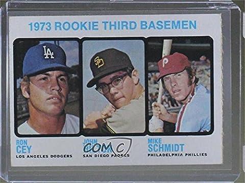 Ron Cey; Mike Schmidt; John Hilton (Baseball Card) 1973 Topps - [Base] #615 - 1973 Baseball