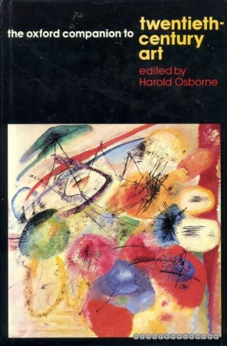 The Oxford Companion to Twentieth-Century Art
