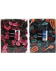 Cedilis 2 Pack Potpourri Dried Flower Bag, Scent of Rose and Ocean, Home Decoration Bowl Vase Filler, Fragrance Perfume Sachet, Clear Box, Volume of 90 Fluid-Oz