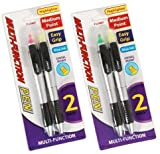 2 pack Multi-Function Highlighter and Pen Combo 48 pcs sku# 1916149MA