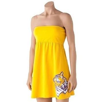 Amazon.com: LSU Tigers Oro Traje de baño encubrimiento ...