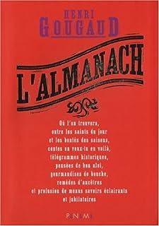 L'almanach, Gougaud, Henri