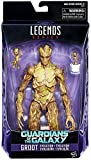 Marvel Legends 6-Inch Series Guardians of the Galaxy Exclusive Groot Evolution Action...