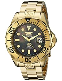 Invicta Men's 13940 Pro Diver Analog Display Japanese Automatic Gold Watch