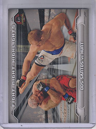 2014 Topps UFC Champions Fight Night Highlights #FNHAJDS Junior Dos Santos (Junior Dos Santos Best Highlights)