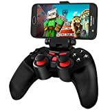 Android Game Controller, BEBONCOOL Wireless Gamepad, Bluetooth Game Controller with Clip for Android Phone/ Tablet/ Gear VR