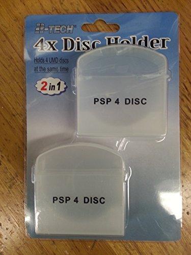 (4x UMD Disc Holder (holds 4 UMD discs; 2 pieces))