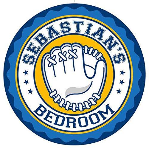 Chico Creek Signs SEBASTIAN'S Baseball Glove Bedroom 14