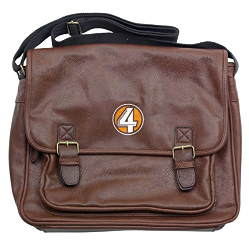 Laptop Luxury Messenger Tan Logo Bag Kvwn Anchorman 4 pInTFIP