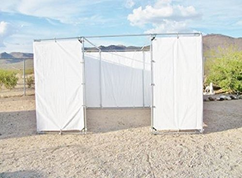 10' x 30' SUKKAH KIT with CENTER 6ft DOOR OPENING for 1 5/8 '' Pipe - Sukkot by Golden Valley Tools & Tarps