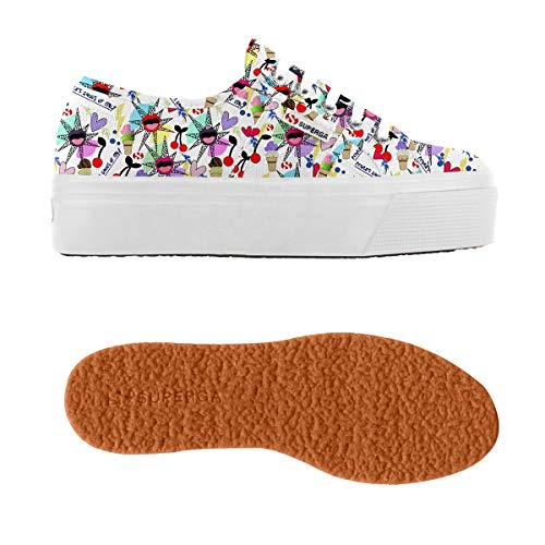 2790 Sneaker fantasy Donna Cotw wht Superga Bepositivecolors dOxwZS4dq