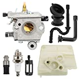 Replaces Stihl 024 026 MS240 MS260 Fits Models: 1121-120-0610 Fit walbro WT-403B carburetor, not zama carburetor