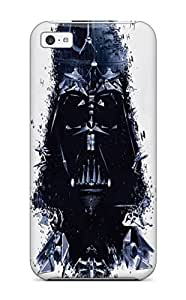 Fashion Protective Star Wars Outer Darth Vader Death Star Dark Side Creative Artwork Vehicles Case Cover For Iphone 5c