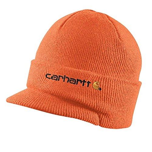 CHA164BOG Invierno Naranja de con CHA164BOG Color Carhartt Gorro Visera 8qCzEFw