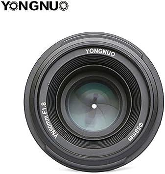 Lente estándar de Yongnuo YN50 mm f1.8 N AF/MF para Nikon D7100 ...