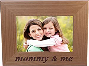 Amazoncom Mommy Me 4x6 Inch Wood Picture Frame Great Gift