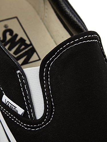 Vans U CLASSIC SLIP-ON BLACK VEYEBLK - Mocasines de lona unisex Negro