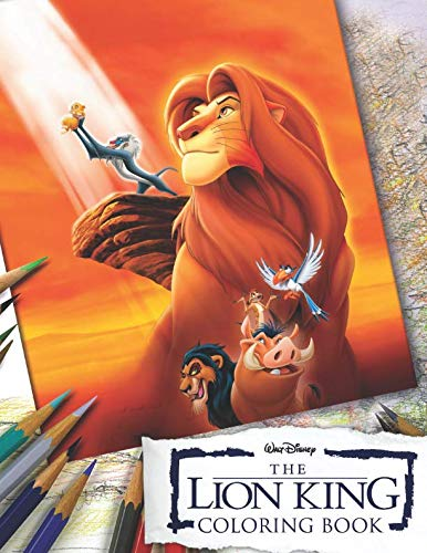 LION KING Coloring Book: Excliusive 42 Illustrations