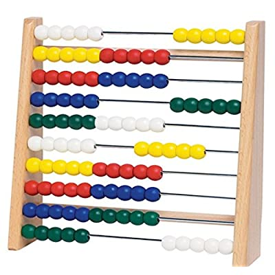 Targarian Wooden Abacus , 10 Racks 100 Colored Beads , Educational Game , Children Maths: Toys & Games