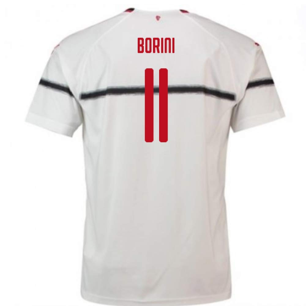 2018-2019 AC Milan Puma Away Football Soccer T-Shirt Trikot (Fabio Borini 11) - Kids