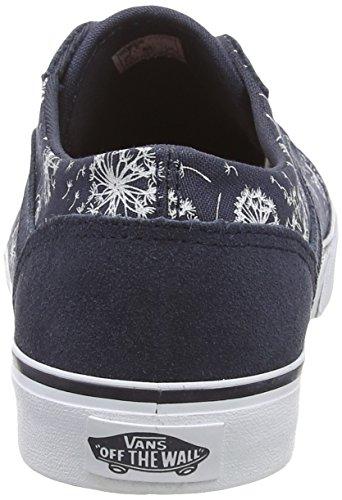 Vans MILTON Damen Sneakers Mehrfarbig ((Suede) ombre blue)