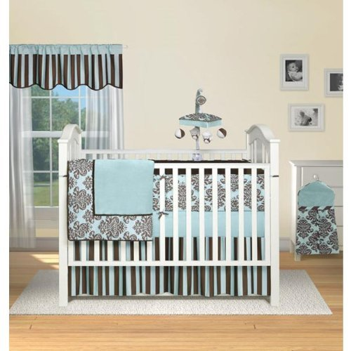 - Bailey 4 Piece Crib Bedding Set