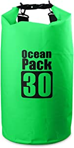Bear Outdoor Dry Sack/Floating Waterproof Bag 2L/5L/10L/20L/30L for Boating, Kayaking, Hiking, Snowboarding, Camping, Rafting, Fishing and Backpacking