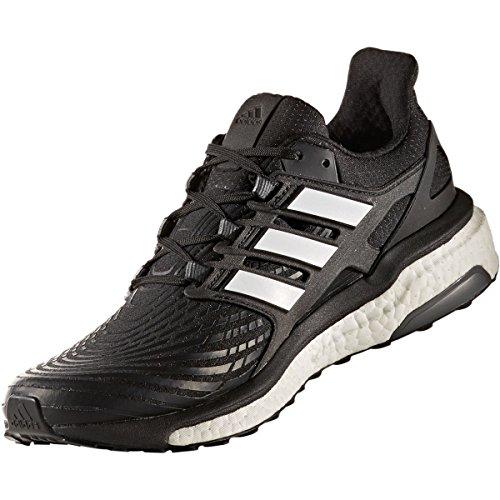 adidas Energy Boost M - Zapatillas de running Hombre Negro (Negbas / Ftwbla / Ftwbla)