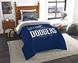 "Los Angeles Dodgers MLB Twin Comforter Set (Grand Slam Series) (64"" x 86"")"