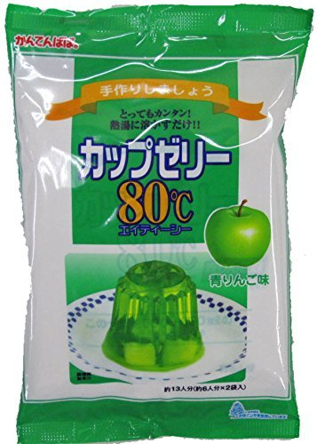 Viewpoint Papa cup jelly green apple taste 100gX2 bags about 6 servings x2 bags by Viewpoint Papa