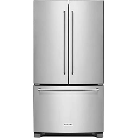 Kitchen Aid KRFC300ESS KRFC300ESS 20 Cu. Ft. Stainless Counter Depth French  Door Refrigerator