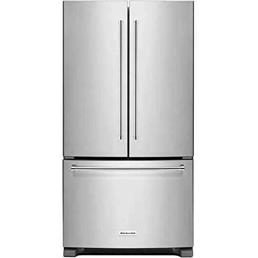 Best Counter Depth Refrigerator 2015 >> Kitchen Aid Krfc300ess Krfc300ess 20 Cu Ft Stainless Counter Depth French Door Refrigerator