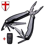 Multitool with Knife and Pliers - Utility Set of Mini Tools for Everyday Use - Grand Way 104037