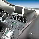 KUDA–Gruppo console di comando compatibile con navigatore Seat Altea dal 5/04/Toledo da 1/05Mobilia/in ecopelle nero