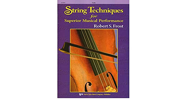 Amazon com: Frost, Robert S  - String Techniques for Superior