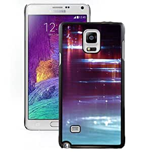 Colorful Water Surface Hard Plastic Samsung Galaxy Note 4 Protective Phone Case