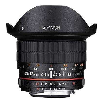 amazon com rokinon 12mm f2 8 full frame fisheye manual focus lens rh amazon com Canon EF Lenses Family Canon Zoom Lens