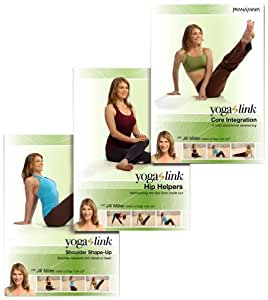 Yoga Link: Harmonizing the Hips, Shoulders and Core 3-DVD Set