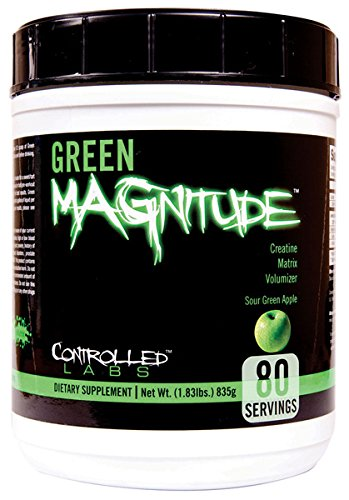 Green MAGnitude-Controlled Creatine Matrix Volumizer, 1.83 lb Apple