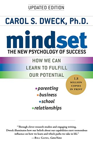 Mindset: The New Psychology of Success by Carol S. Dweck cover