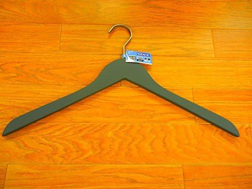 Soft Coat Slim Kleiderb/ügel Set 4-teilig schwarz BxHxT 44x27x1cm