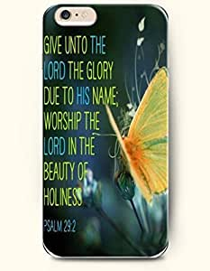AMB?iPhone Case, iPhone 6 Plus (5.5) Hard Case **NEW** Case with the Design of Give thanks to the Lord. For...