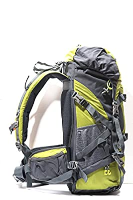 GOODMAN GEAR Hiking Backpack 50L Outdoor Sports Climbing Backpack Bag Cover Mountaineering Backpack Camping Hiking Backpack with Waterproof Cover
