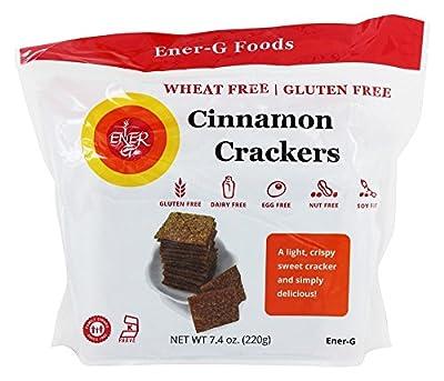 Ener-G Cinnamon Crackers - 5.92 oz