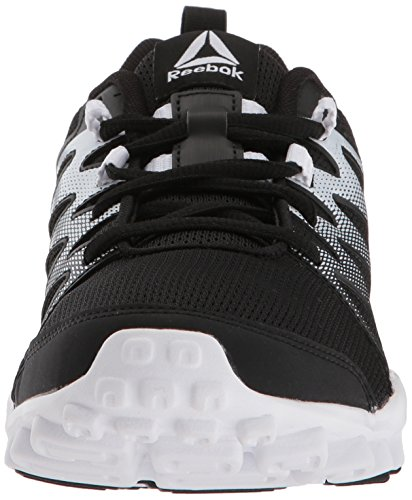 Cross Realflex Women's 0 Metallicerortie Metallicallic Silver US Mist Train 4 M Shoe White B Reebok Black White Trainer xFSXx