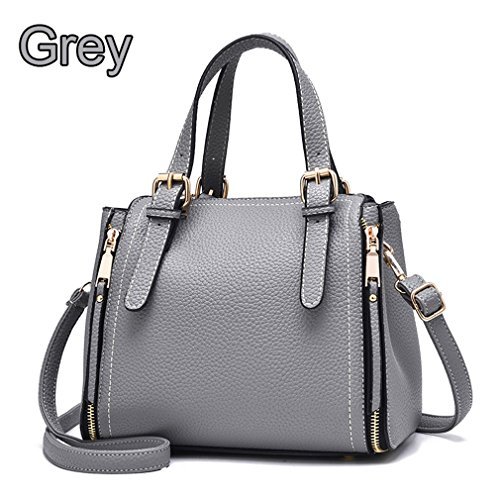 Shoulder 25cm Bags 12cm18cm Red About Kaoling Shoulder Leather Female Bags For Handbags Leather Pu Gray Small Bags IxqO0g