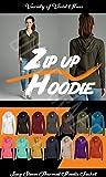 OLLIE ARNES Women's Thermal Long Hoodie Zip Up