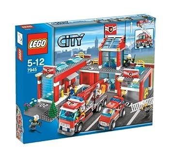 lego city fire station 7945 japan import - Lego City Pompier