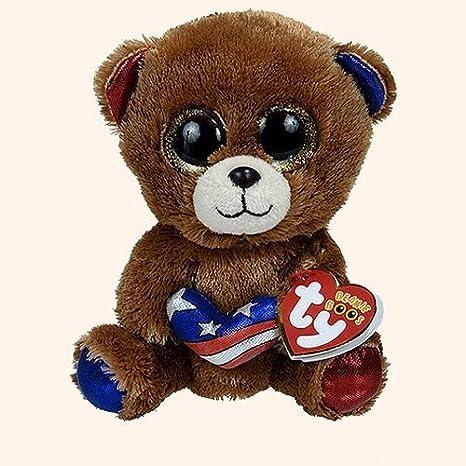 Amazon.com  Ty Beanie Boos Stars - Bear (Cracker Barrel Exclusive ... 2cbb7ac5f95
